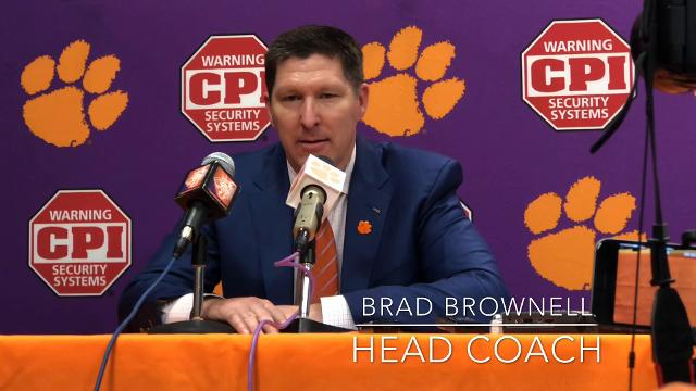 Clemson basketball coach Brad Brownell and senior guard Gabe DeVoe discuss how the team's been able to win close games this season.