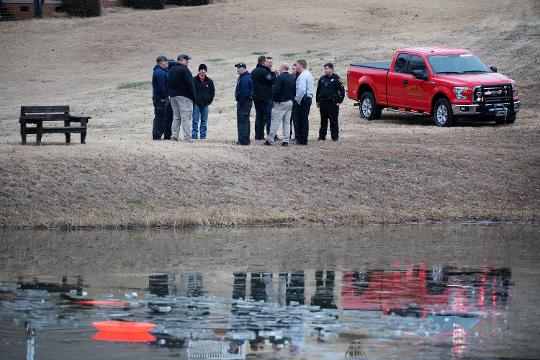 Terri Ray describes the scene when children fell through the ice while playing on a neighborhood pond in Travelers Rest.