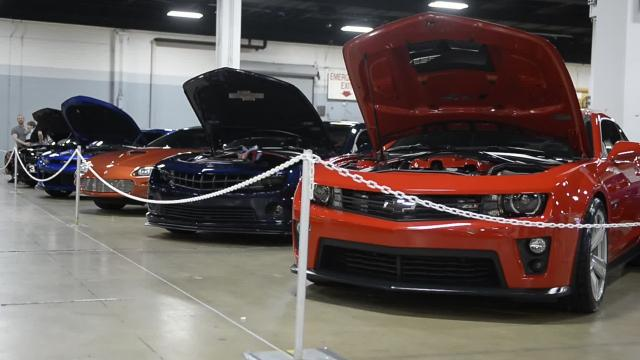 The South Carolina International Auto Show is underway at the TD Convention Center in Greenville.