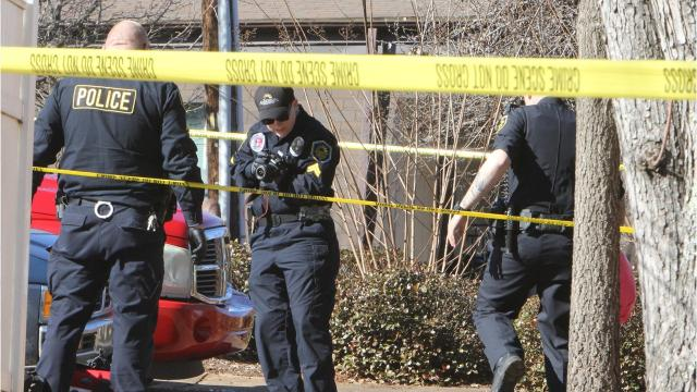 One person was injured in a shooting at an Anderson apartment complex Thursday afternoon.