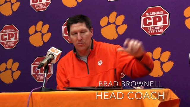 Clemson head basketball coach Brad Brownell described what makes injured senior Donte Grantham such an important leader for the Tigers on and off the court.