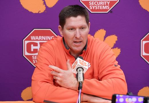 Clemson head coach Brad Brownell previews the Wake Forest game.