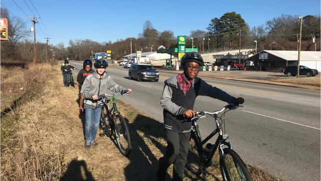 Bike Walk Greenville and the Lakeview Middle School community are working to raise $100k by July 1 to build a new trail.