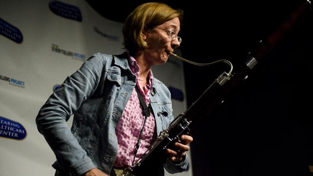 Anna Mitchell tells a love story through her bassoon.