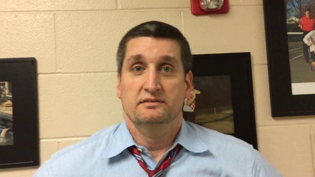 Greenville boys basketball coach Mike Anderson describes the disappointment of his team's loss to Westwood in the second round of the playoffs and the end to an otherwise positive season.