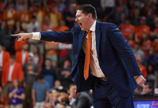 Clemson head coach Brad Brownell after loss to Duke.