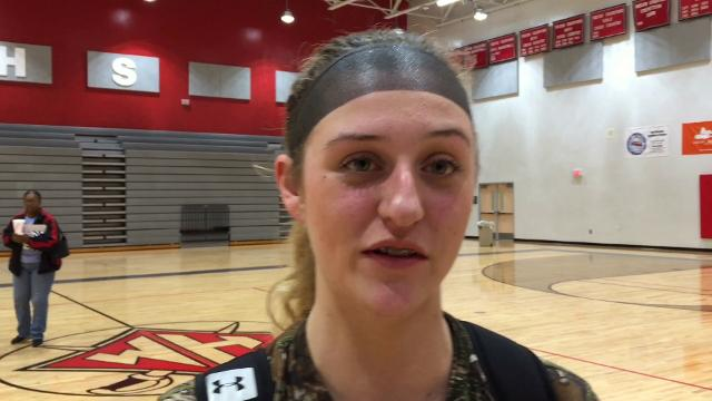 Wade Hampton senior Greyson Boone discusses her team's second-half spurt, the Generals' defense and their upcoming game against Woodmont.