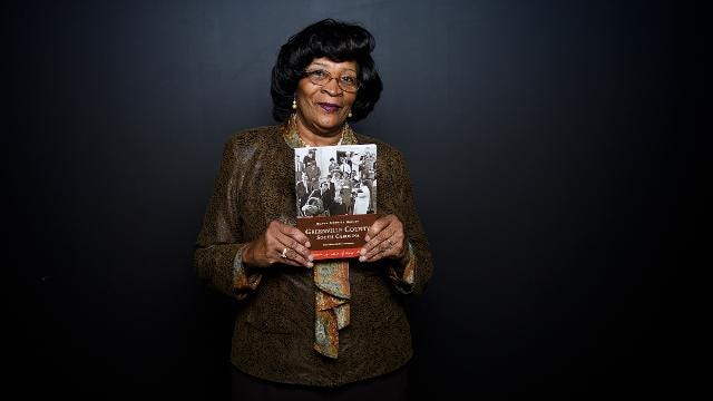 Leola Robinson-Simpson talks about being involved in the Greenville Civil Rights movement.
