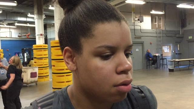 Christ Church senior Lawren Cook after Upper State loss