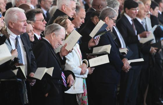 Sights and sounds from the Billy Graham funeral in Charlotte on Friday, March 2, 2018.