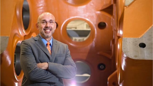 The new executive director of Clemson University's Center for Automotive Research (CU-ICAR), Nick Rigas, has some big plans for the campus in Greenville.