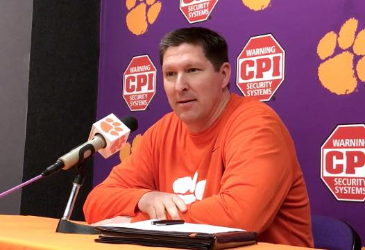 Clemson head coach Brad Brownell talks about experts picking against the Tigers.