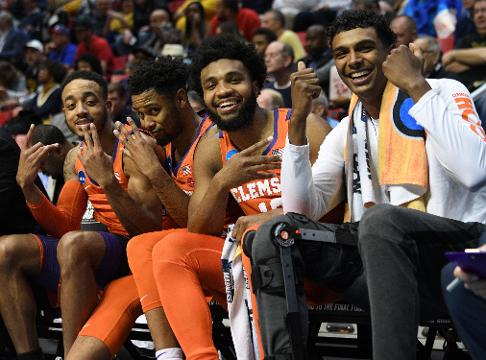 "Clemson basketball ""Why not more?""."
