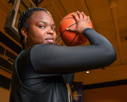 Tamia Grate, a senior at Pendleton High School, finished her career with the Bulldogs with more than 1,500 points, and looks forward to a career in law enforcement. Gratenwas part of the 2015 Class AA State Championship Lady Bulldogs team.