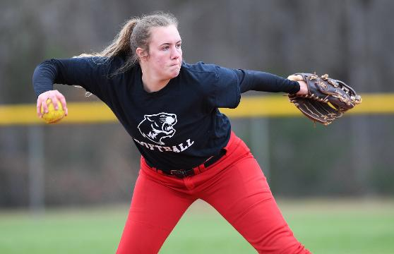 After surgery on each knee, Blue Ridge senior third baseman Gabi Howard is happy to still be in the game.