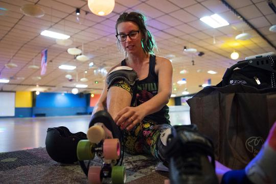 Members of Greenville Derby Dames talks about the role that roller derby plays in their lives.