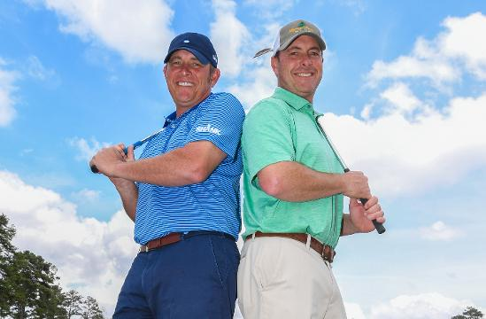 Local golfers Tommy and Robbie Biershenk compete in Golf Channel competition.