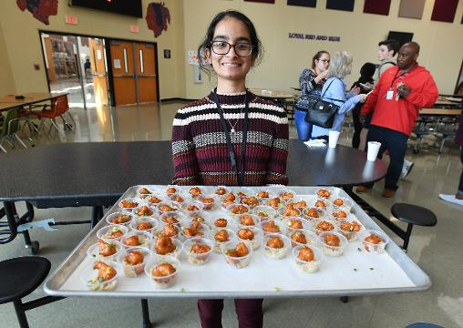 Riverside student wins Healthy Lunchtime Throwdown