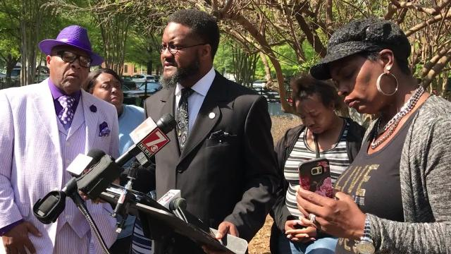 The family of a man killed in a deputy-involved shooting in March is urging the Greenville County Sheriff's Office to release the names of the deputies involved.