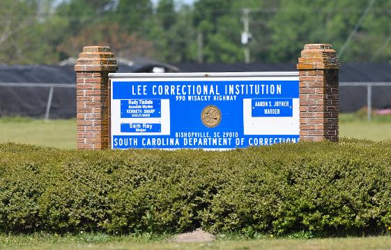 RAW video from Lee Correctional.