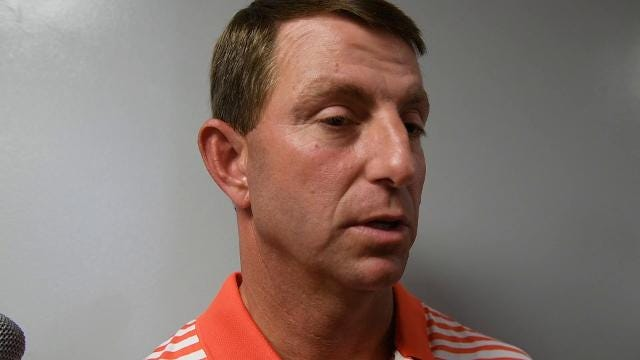 Dabo discusses the NFL draft.