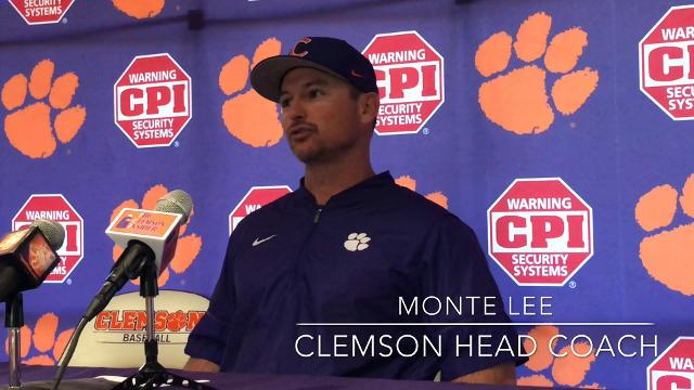 Clemson head baseball coach Monte Lee's opening statement following the Tigers' 12-7 win over Florida State on May 6, 2018.