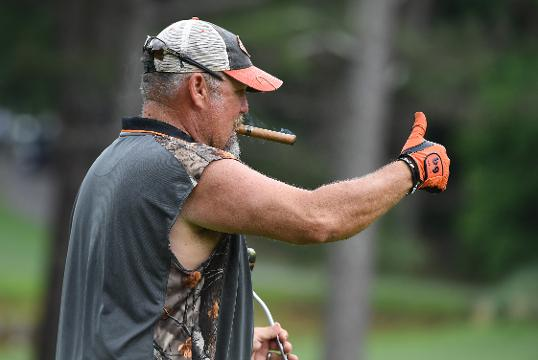 Larry The Cable Guy on sponsors, missiles, and playing from the white tees.