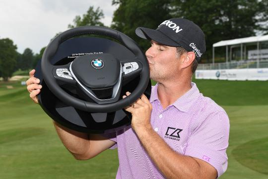 Michael Arnaud wins 2018 BMW Charity Pro-Am.