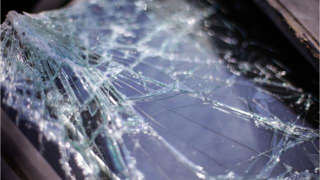 A 71-year-old woman killed and her husband of 52 years was injured in a two-vehicle crash near Seneca Monday.