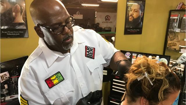 The social media giant is featuring local small business owners like barber Al Reid to showcase how Facebook can help you break into new markets.