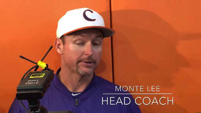 Clemson outfielder Seth Beer and head coach Monte Lee detail the phone call that brought Beer to Clemson.