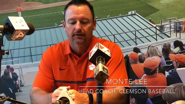 Clemson baseball coach Monte Lee discusses the 2018 MLB Draft.