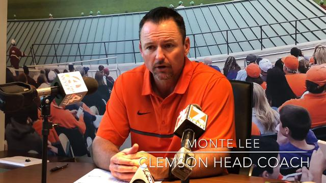 Clemson baseball coach Monte Lee spoke about learning from the 2018 season during his annual post-season wrap up on June 7, 2018.