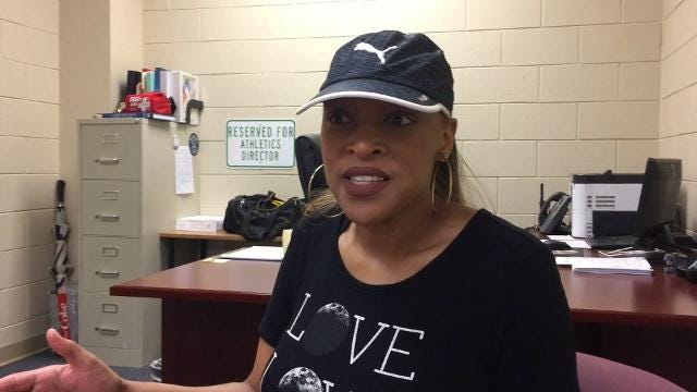 Kimberly Tate, sister of the late Eldrick Leamon, recalls the death of the former Southside High School basketball star who died from injuries suffered in a motorcycle accident.