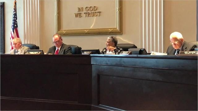 Anderson County Councilwoman Gracie Floyd cast the only vote against a budget for the fiscal year starting July 1 that included a $750,000 increase in property taxes.