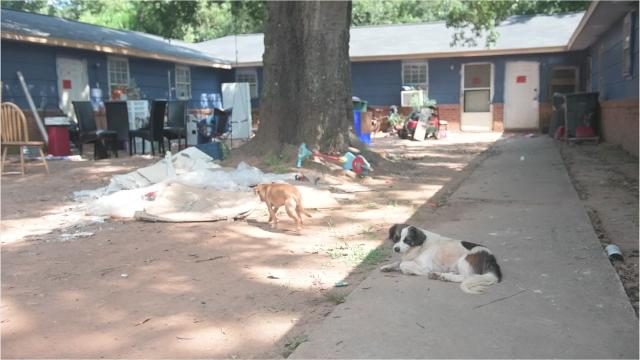 County leaders are discussing possible solutions to enforcing minimum housing standards after residents were displaced from their condemned apartment last week.