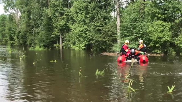 After helping rescue dozens of people from a flash flood last weekend, the team is expected to head back to the Upstate on Tuesday.