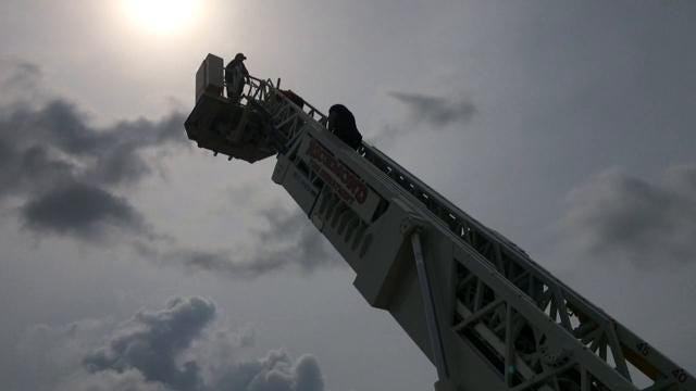 Richmond Fire Department's third Junior Fire Academy began Monday with campers learning about equipment and firefighting basics.