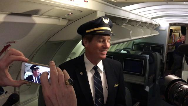 United Airlines Captain David Smith talks about the retirement of Boeing's 747 by the end of 2017.