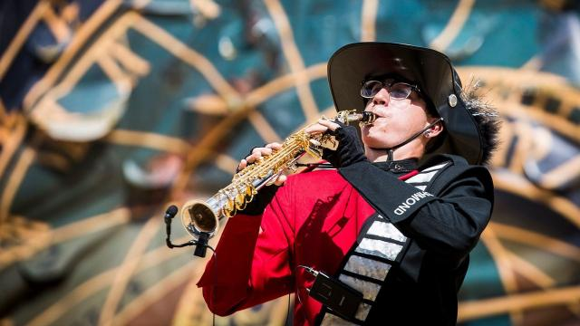 Out of nearly 50 bands competing at the annual Indiana State Fair Band Day competition on Saturday, Winchester Community High School — Band Day champion in 2016 and 2015 — finished in second place.