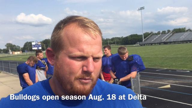 Centerville High School football coach Kyle Padgett discusses the Bulldogs' upcoming 2017 season