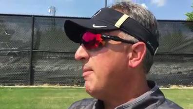 Purdue OL coach Dale Williams