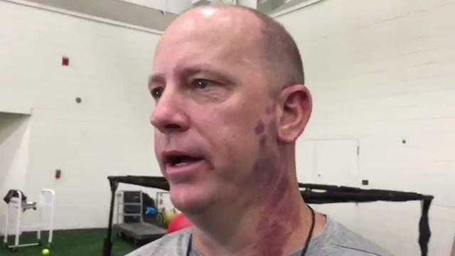 Purdue's Jeff Brohm: Thursday's practice