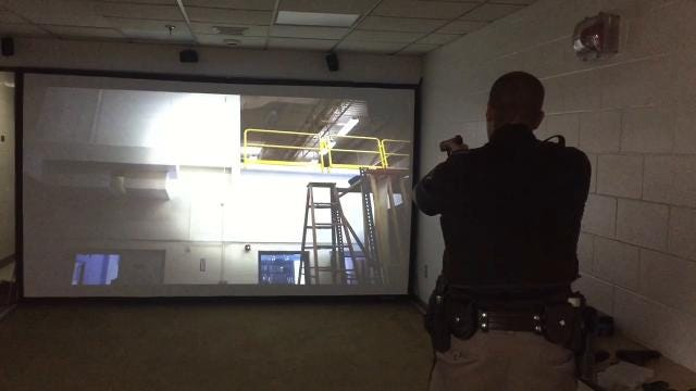 The Tippecanoe County Sheriff's Office hopes a new video simulator installed last week will aid deputies in making life-or-death decisions.