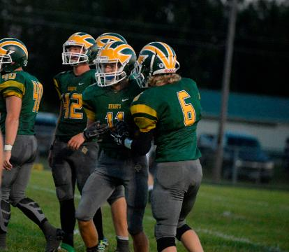 Northeastern's quest for a fifth straight TEC title started with a 34-16 win over Winchester Friday, Aug. 25, 2017.