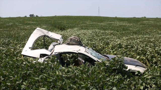 Fatal wreck on N. Black Cemetery Road.