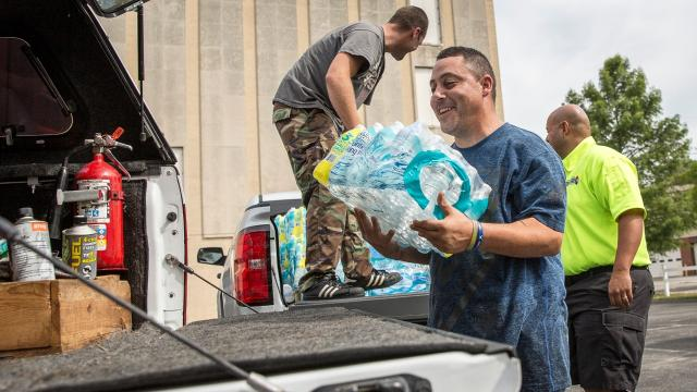 Working together to pack supplies and run through last-minute checklists, four veterans from Delaware County are gearing up to go into the hurricane disaster zones of Louisiana to help those affected by Hurricane Harvey.