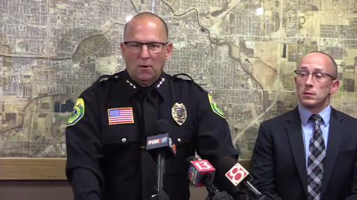 Officials held a press conference to discuss late-night arrests that included Delaware County sheriff's deputy Jerry Parks, which followed a lengthy investigation into drug trafficking.
