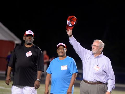 Richmond High School celebrated the 50 year anniversary of its 1967 state championship football team.