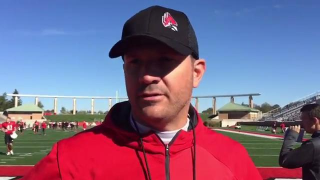 Mike Neu gives injury updates after the bye